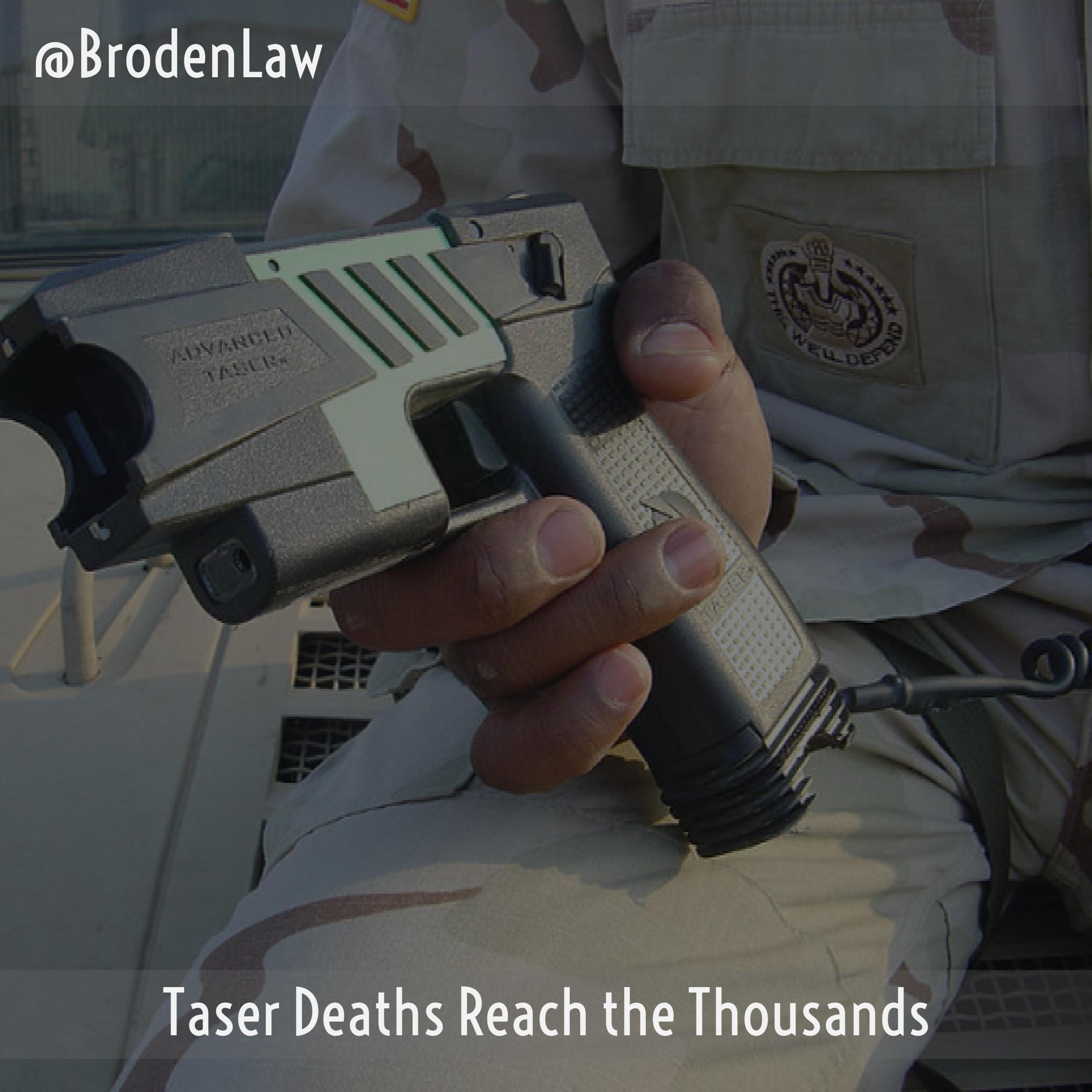 Taser Deaths Dallas Criminal Defense Lawyer
