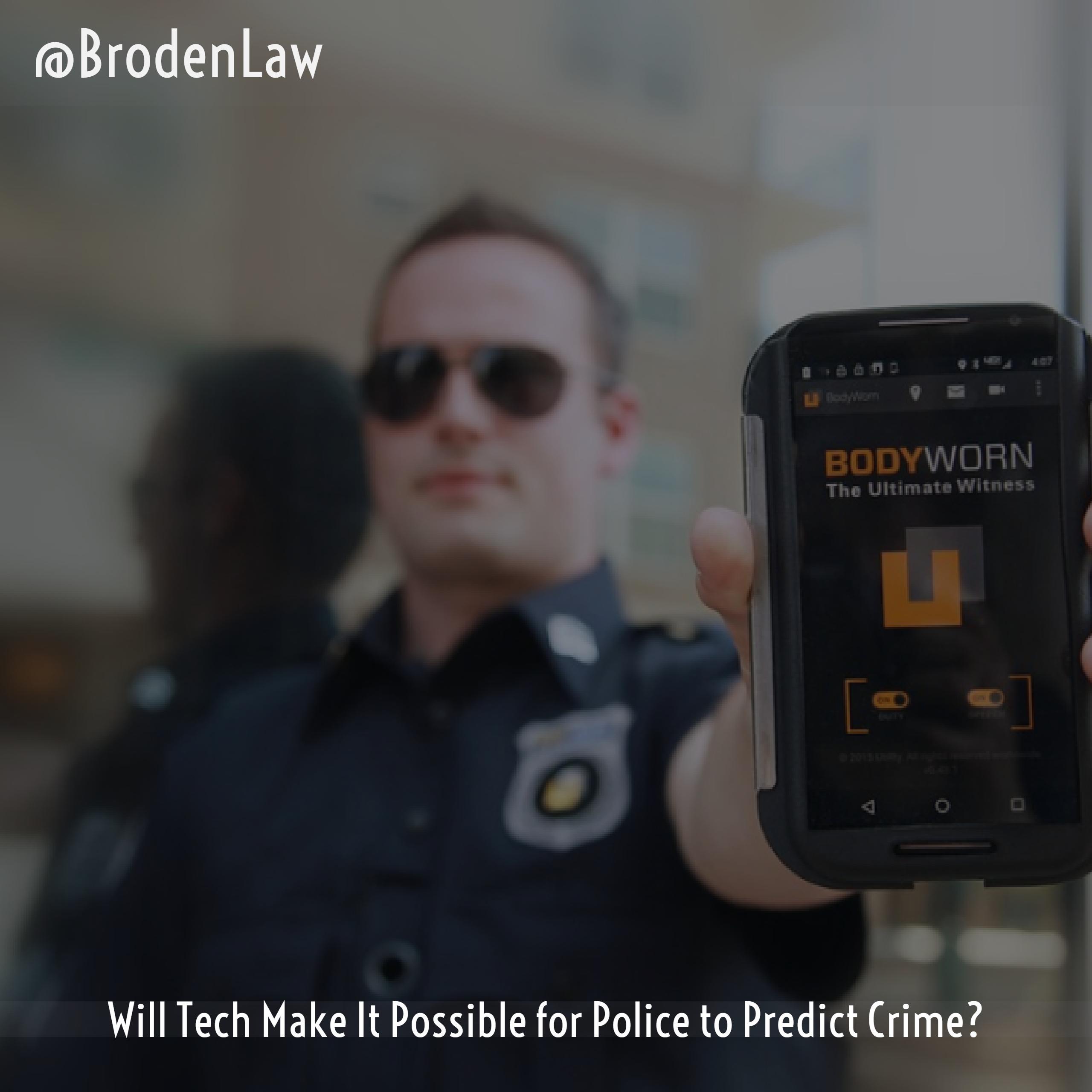 Police Body Cams That Predict Crime Dallas White Collar Criminal Defense Lawyer