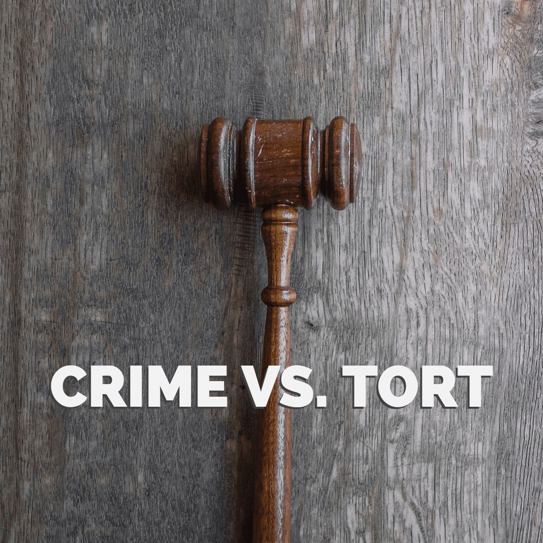 Crime vs. Tort - What's the Difference? - Law Office of Broden & Mickelsen