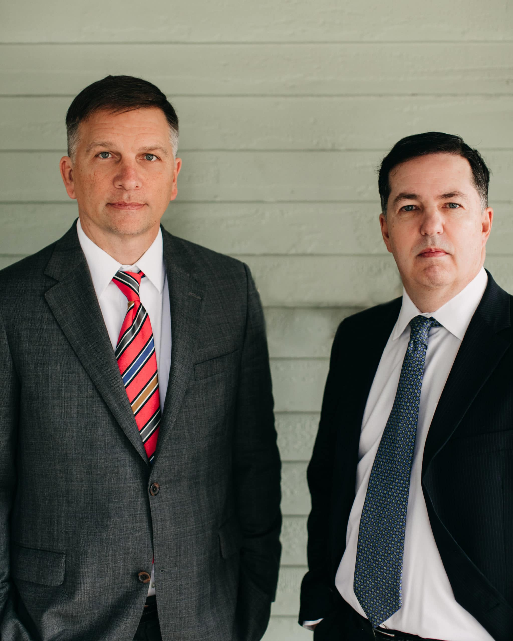 Dallas Criminal Defense Attorneys Clint Broden Right and Mick Mickelsen Left.